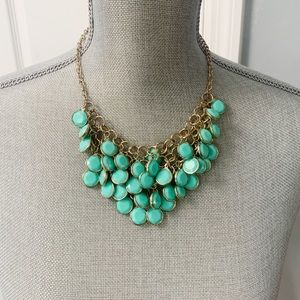 2/$8 Mint Green Bib Necklace